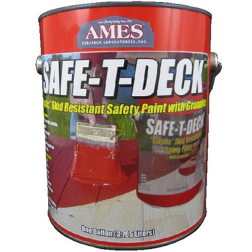 Ames SAFE-T-DECK Elastic Skid Resistant Paint with Granules Gallon