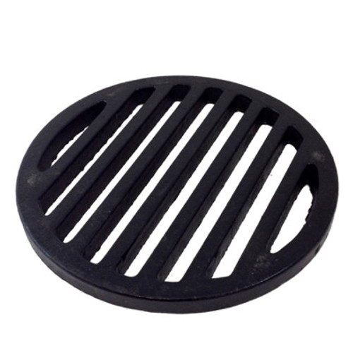 "12"" Cast Iron Bar Strainer - Round"