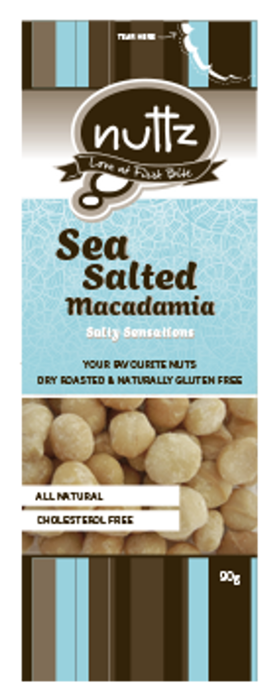 Sea Salted Macadamia 90g