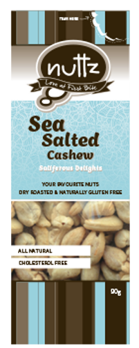 Sea Salted Cashew 90g