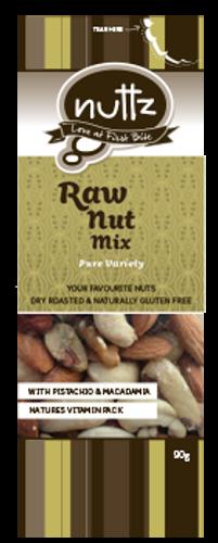 Premium Raw Nut Mix 90g