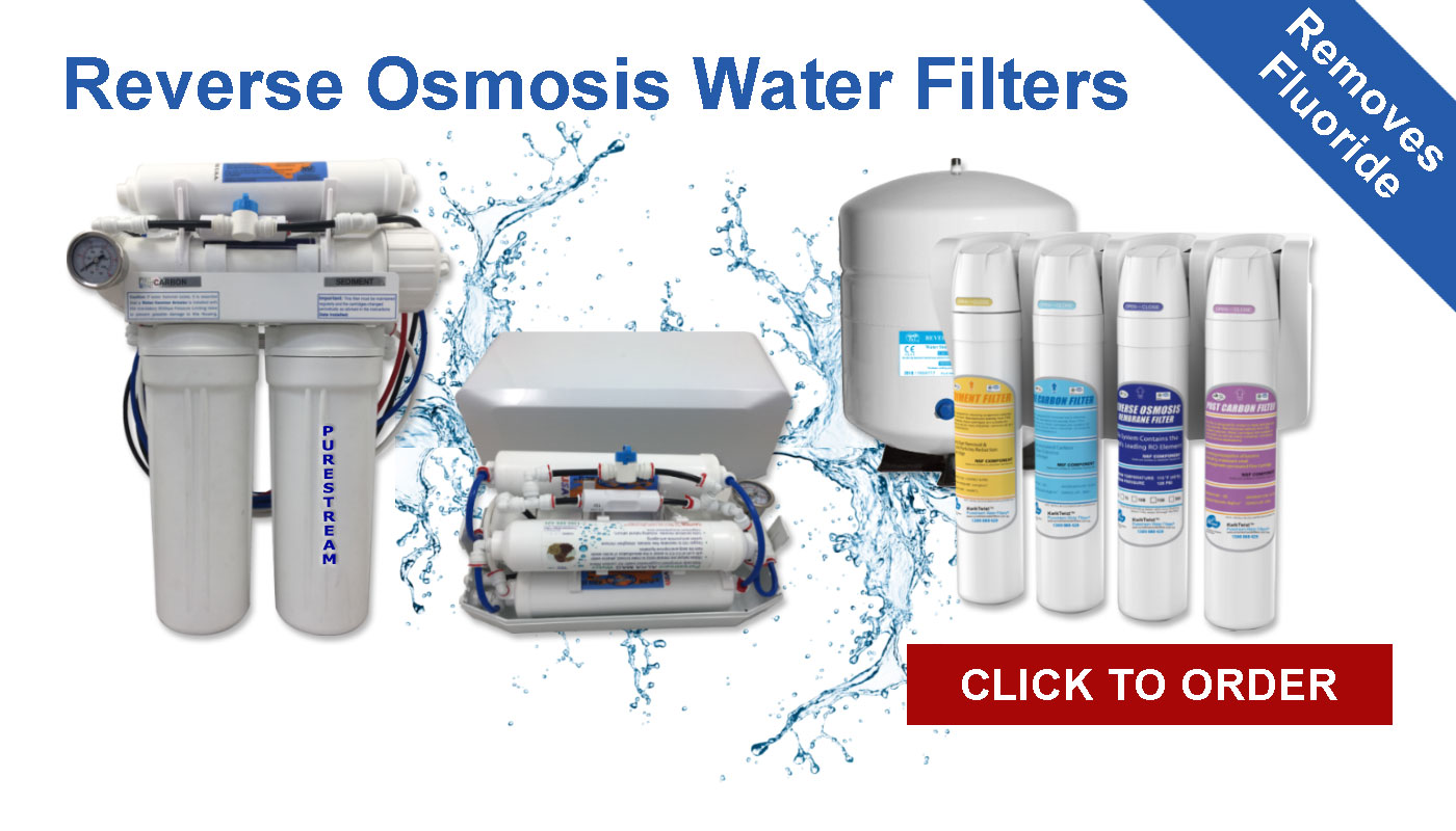 Banner showcasing our range of reverse osmosis systems