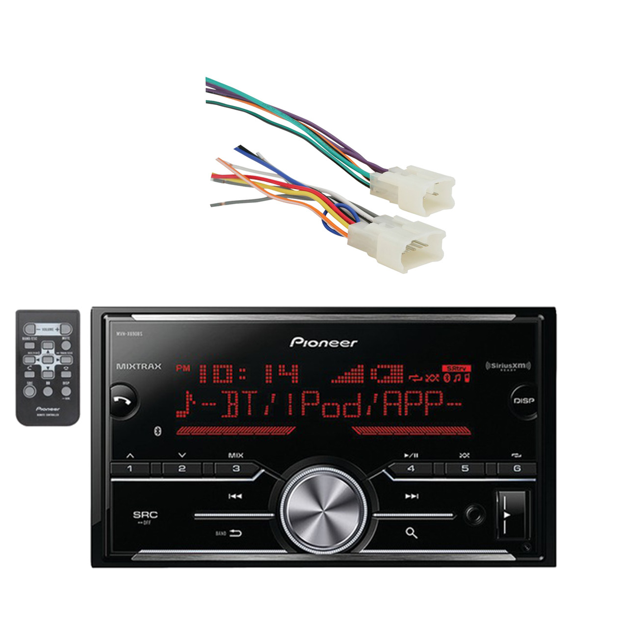 Toyota Receiver Wiring Harness Diagram Libraries 16842 Andpioneer Vehicle Digital Media Double Din With Bluetooth And Enhanced Audio Functions Black Metra Radio For 87 Up