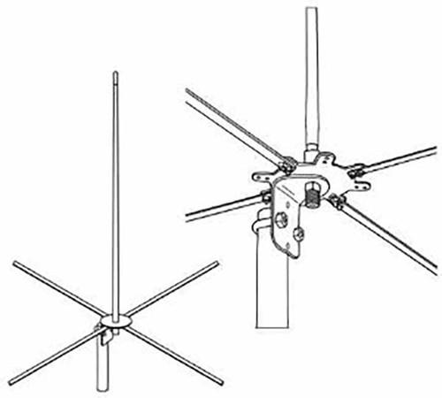 Firestik 4 122cm 2 Meter Mobile Base Antenna R 2mckb