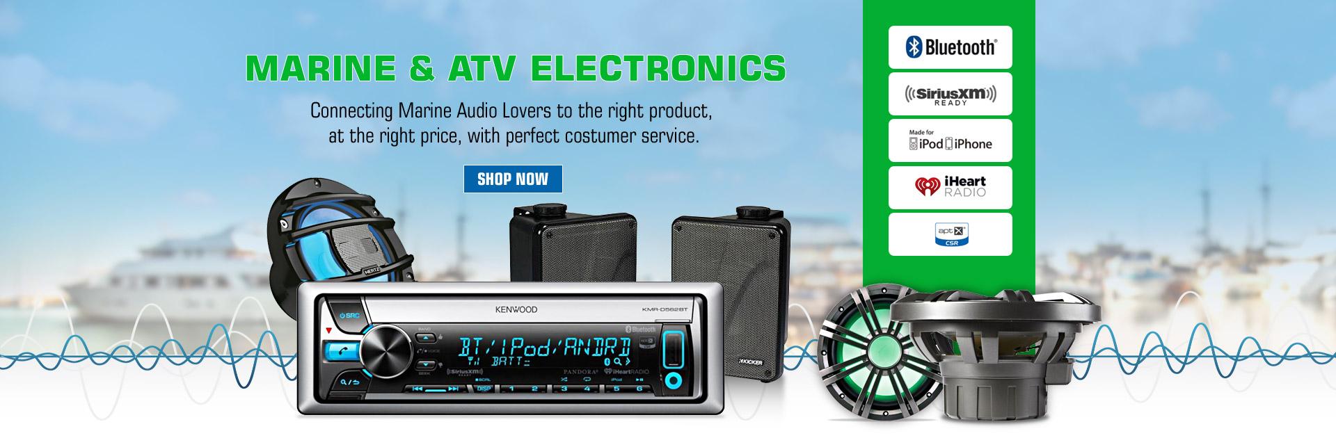Super Car Boat Video Audio Gear Accessories Road Entertainment Boss Marine Radio Speakers Wiring