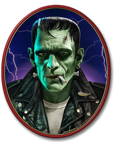 Frankie Boy Metal Sign 17 x 14 Inches