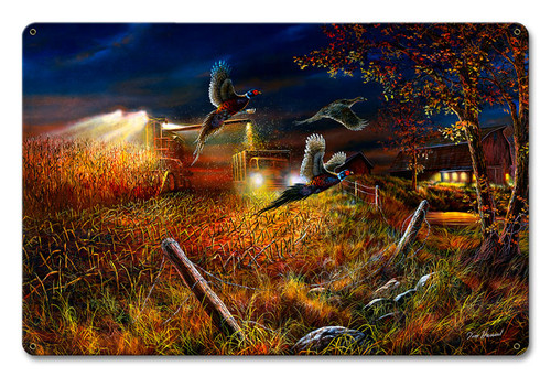Field Of Dreams Metal Sign 18 x 12 Inches
