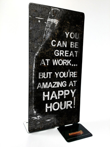 Happy Hour Table Topper 4 x 9 Inches