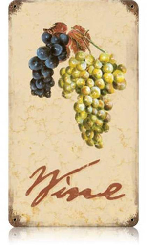 Vintage-Retro Wine Cellar Metal-Tin Sign 2