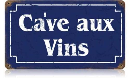 Vintage-Retro Wine Cellar Metal-Tin Sign 3