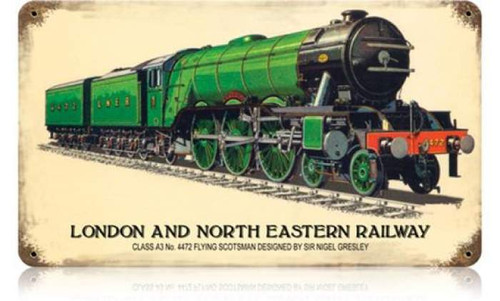 Vintage-Retro London and North Eastern Railway Metal-Tin Sign