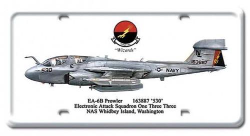 Vintage-Retro EA-6B Prowler License Plate