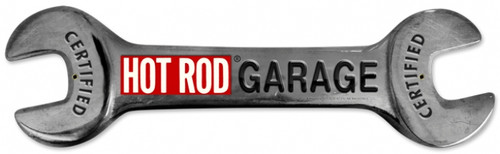 Vintage Hot Rod Wrench 24 x 7 inches Tin Sign