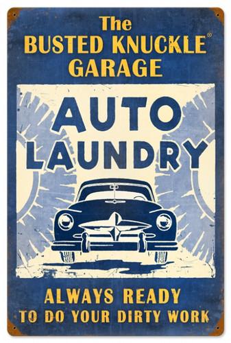 Vintage-Retro Auto Laundry Metal-Tin Sign