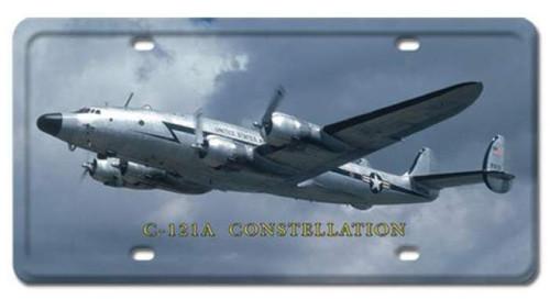Vintage-Retro C-121A Constellation License Plate