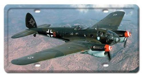 Vintage Heinkel III License Plate 6 x 12 Inches