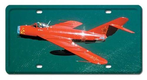Vintage-Retro MIG-17 License Plate