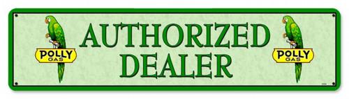Vintage-Retro Polly Gas Dealer Metal-Tin Sign