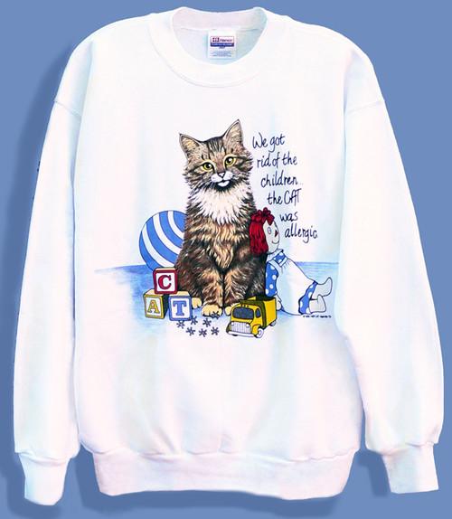 ALLERGIC CAT SWEATSHIRT