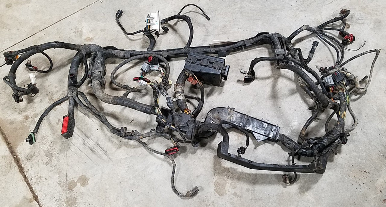 1993-1995 Lincoln Mark VIII Main Engine Bay Harness with Fuse Box 4.6L DOHC