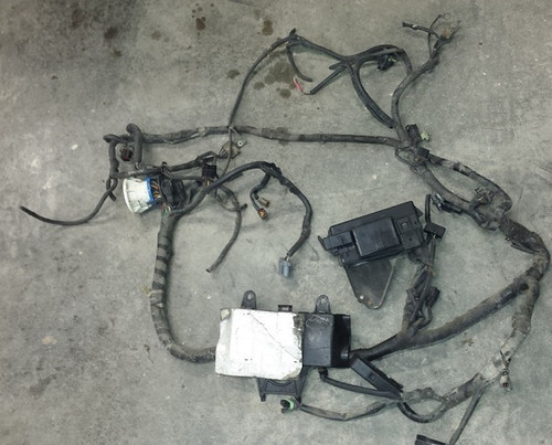 Engine Harness - Main With Fuse Box - 1989 - 1990 - Missing Couple Connectors