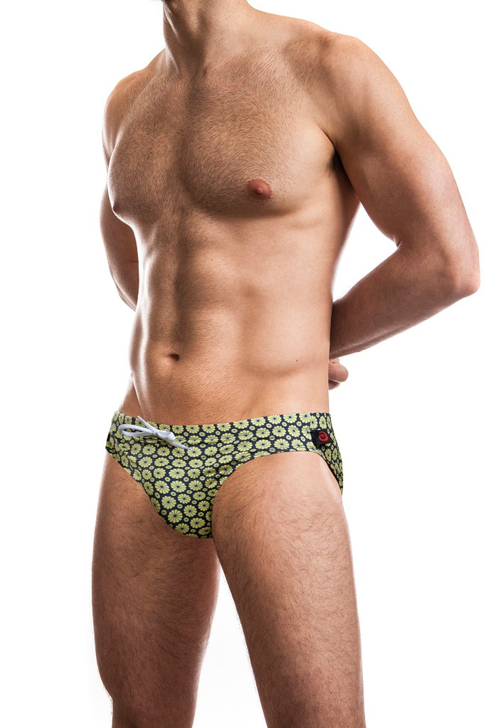 "Jack Adams Hipster 1"" Swim Brief in navy"