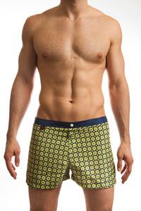 "Jack Adams Hipster 1"" Swim Short in navy"