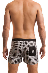 Jack Adams Oswego Swim Short in black