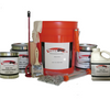 Complete epoxy kits.  Includes epoxy, bucket. paddle, brush, cleaning solution, chips, and slip resistance