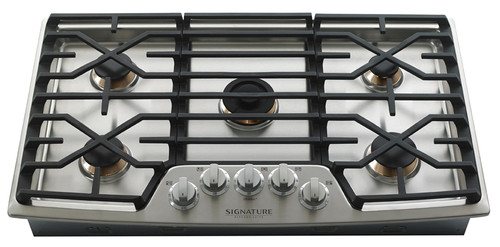 "LG Signature Kitchen Suite 30"" Stainless Steel Gas Cooktop UPCG3054ST"