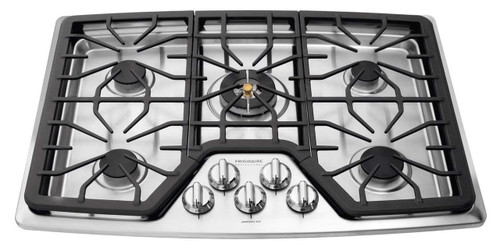 """Frigidaire Professional 30"""" Stainless Steel Gas Cooktop FPGC3087MS"""