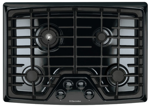 """Electrolux 30"""" Wave-Touch Min-2-Max Burner Gas Stovetop Cooktop EW30GC55GB"""