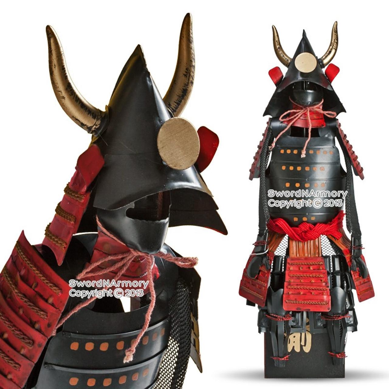 15 5 Quot High Kuroda Clan Shogun Japanese Samurai Armor