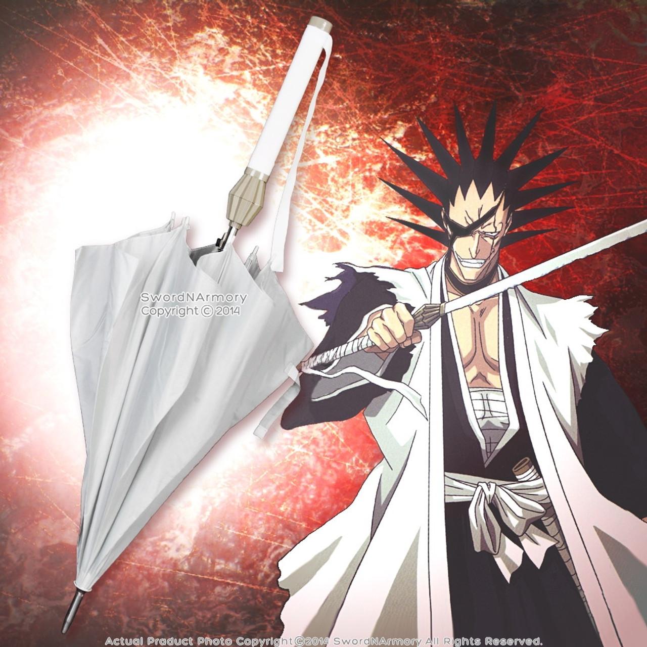 Licensed Bleach Sword Umbrella Zaraki Kenpachi Nozarashi