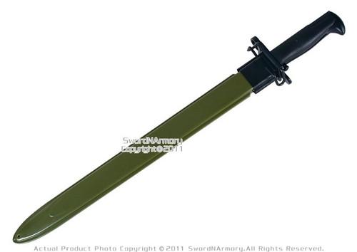 M1 Us Rifle Garand M1942 Bayonet Wwii Replica Knife