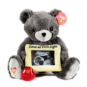 Gray LOVE Bear   *SPECIAL ORDER*