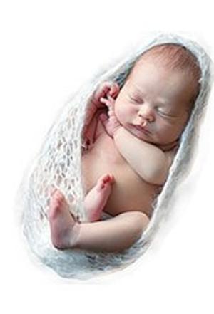 Newborn - Beige Gauze Sleeping Bag