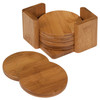 Genuine Bamboo Small Round Coasters