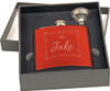 Metal Flask Small Gift Set