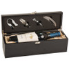 Black Box Bottle Case and Wine Serving Kit
