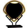 Acrylic Small Infinity Fan Plaque with Iron Stand