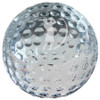 Small Crystal Golf Ball Paperweight