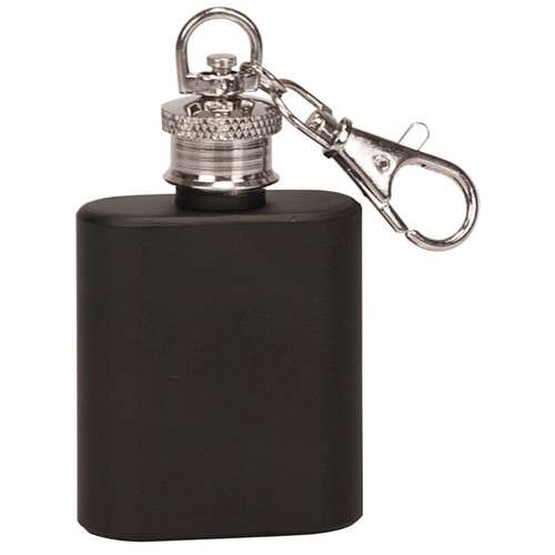 Metal Flask Keychain