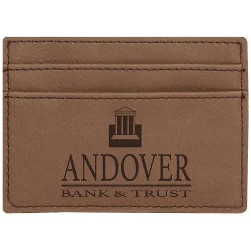 Leatherette Card Holder and Money Clip