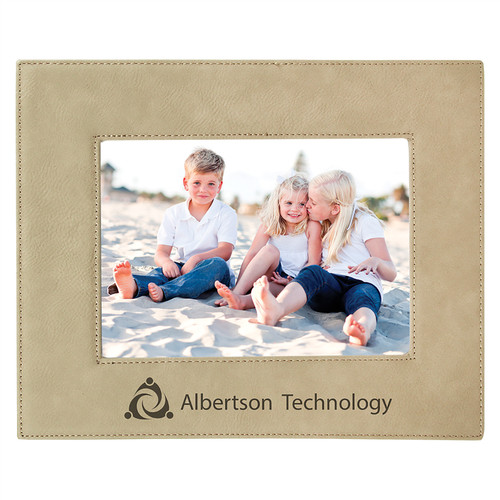 Leatherette Medium Picture Frame