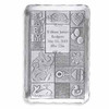 Personalized baby quilt design hand engraved tray