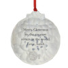 Engraved Christmas Ornament