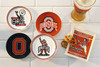 Ohio State Luminosity 4-Piece Coaster Set