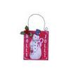 Holly Jolly Wall Ornament