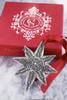 Metal Star Ornament with Swarovski Crystals